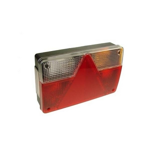 AJBA FP96 REAR COMBINATION LAMP C/W 6 PIN QUICK CONNECTOR (LONG BODY VERSION) R/H