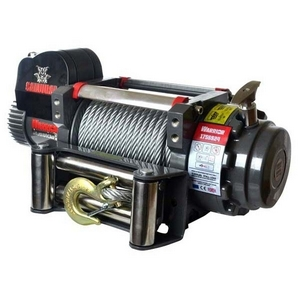 S17500 12V SAMURAI ELECTRIC WINCH WITH STEEL CABLE