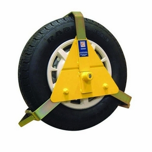 """14"""" - 16"""" STRONGHOLD WHEEL CLAMP- INSURANCE APPROVED (FITS TYRE SIZES 185-250MM)"""