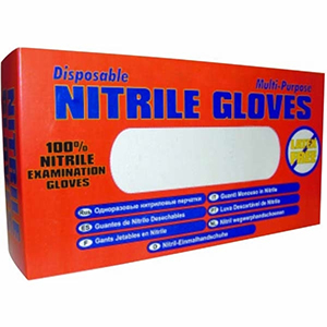 NITRILE GLOVES - HD (LATEX AND POWDER FREE) SIZE X-LARGE - 100/BOX
