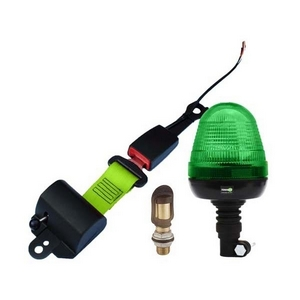 SEAT BELT INDICATOR - FLEXI POLE LED BEACON C/W SCREW DIN POLE BRACKET
