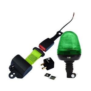 SEAT BELT INDICATOR - FLEXI POLE LED BEACON C/W RELAY